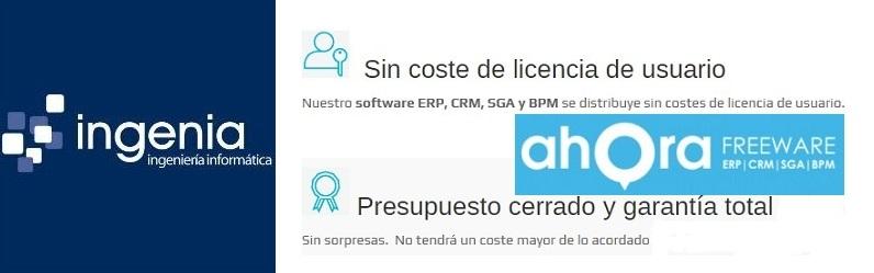 Informática Ingenia apuesta desde Zaragoza por el software ERP y CRM de Ahora